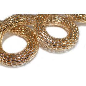 Kígyólánc Ø 8mm aranyszínű