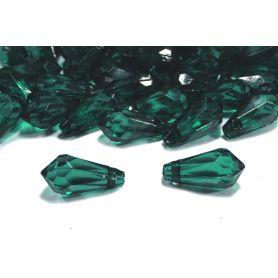 Csepp alakú akril kristály függő 9x18mm