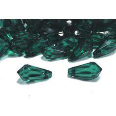 Csepp alakú akril kristály függő 9x18mm MIX-50%