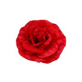 Virág kitűző, hajdísz, hajcsat sok színben - 8cm