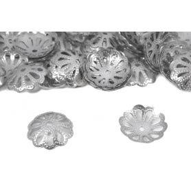 Gyöngykupak, szerelék - Króm -13,15mm