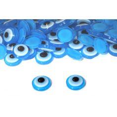 Ragasztható üveg szemek  -Ø 10mm