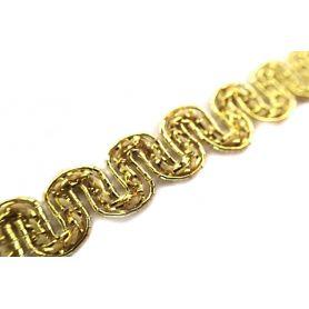 Bortni Lurex- arany - ezüst- 10mm