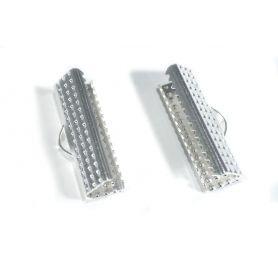 Végzáró 19mm - ezüst -