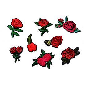 Felvasalható -Virág -7cm