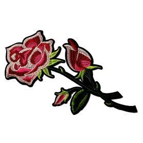 Felvasalható -Virág -27cm