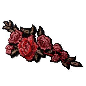 Felvasalható -Virág -26cm
