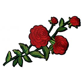 Felvasalható -Virág -40cm