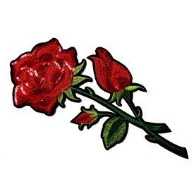 Felvasalható -Virág -30cm