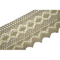 Pamut csipke -Drapp- 12.5cm