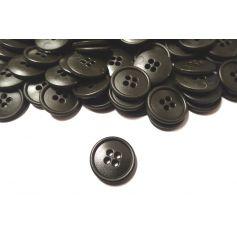 Négylyukú gombok -Sötétzöld-Ø 20mm