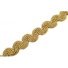 Bortni - arany - ezüst- 16mm