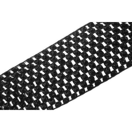 Hálós gumi sok színben - 6cm