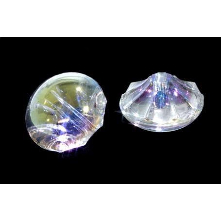 Irrizáló kristály hatású gomb