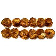 Flitter rózsák sok színben - 4cm