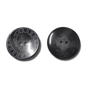 Kétlyukas nagyméretű gomb Ø34,5mm