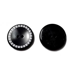 Kétlyukas nagyméretű gomb Ø34mm