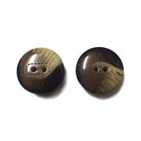 Műanyag női gomb-Ø28mm Ø23mm
