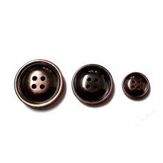 Három méretes gomb szett -Fémhatású-Ø17mm 25mm 30mm