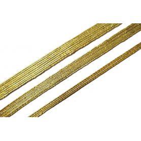 Lurex paszomány - 3.5mm -7.5mm -10.5mm