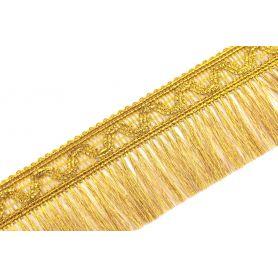 Rojtos bortni 57mm - arany lurex -