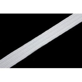 Gumi szalag -fehér- 7mm