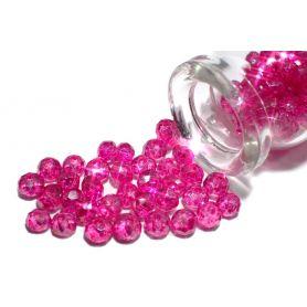 Csiszolt kristály gyöngy sok színben