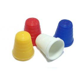 Műanyag gyűszűk 4 színben