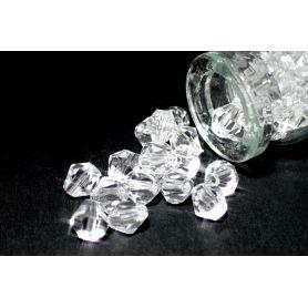 Rondelle csiszolt kristály gyöngy