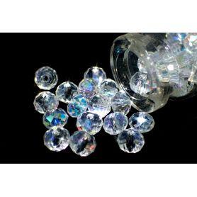 Brillette csiszolt kristály gyöngy BR1 AB ss28