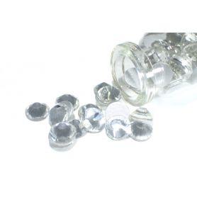 Ragasztható strassz kristály R136 Ø 7mm