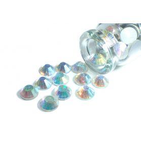 Ragasztható strassz kristály R2 36 AB Ø 7mm