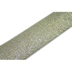 Arany Lurex gumi 3cm