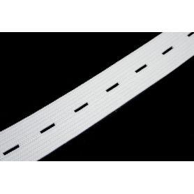Gomblyukas gumi -fehér- 20mm