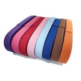 Gumi szalagok -színes- 20mm