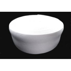 Gumi szalag -fehér- 80mm
