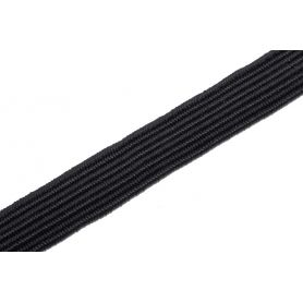 Gumi szalag -fekete- 8mm