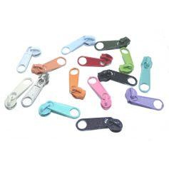 Húzózár futók (spirál) sok színben -3mm