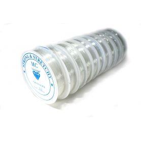 Rugalmas damil, fűzőzsinór  Ø  0.6mm - 1mm