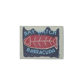 Felvarrharó folt, cimke -Barracuda-
