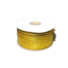 Lurex szalag -Arany- 4mm