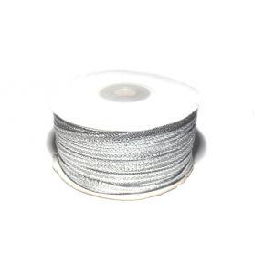 Lurex szalag -Ezüst- 4mm
