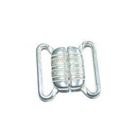 Melltartó kapocs -ezüst-