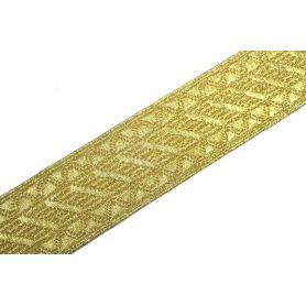 Fémszálas arany szalag 14, 20, 25, 32mm