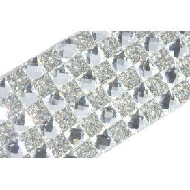 Felvasalható strassz kristály lap 240db