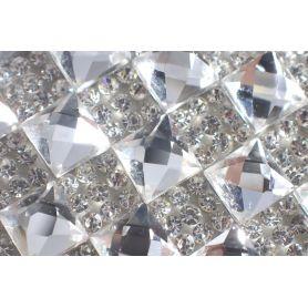 Felvasalható strassz kristály lap 200db