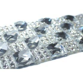 Felvasalható strassz kristály lap 120db