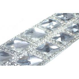 Felvasalható strassz kristály lap 50db
