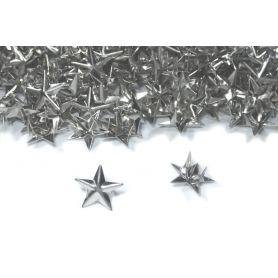Csillag szegecs -Króm -12mm