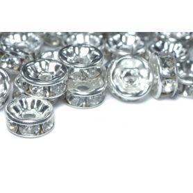 Távtartó, gyöngyköz, fémgyöngy Ø 7.5mm